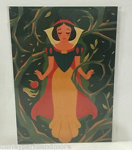 Disney WonderGround Gallery Snow White Postcard by Dave Quiggle Hard to Find New