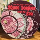 Disney Parks Classic Poster Ceramic Coaster 20,000 Leagues Under The Sea New