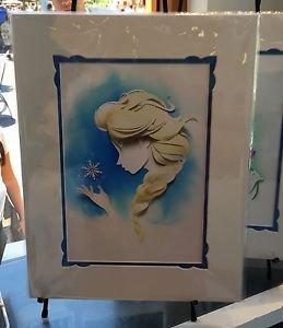 Disney WonderGround Gallery FROZEN Elsa Print by Jackie Huang NEW