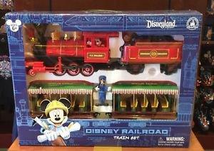 Disneyland Resort Mickey & Friends Disney Railroad Train Set - Brand New