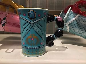 Disney Parks Princess Jasmine Signature Ceramic Mug Cup New