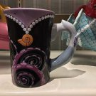 Disney Parks Villain Ursula Signature Ceramic Mug Cup New