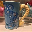 Disney Parks Frozen Queen Elsa Signature Dress Ceramic Mug Cup New