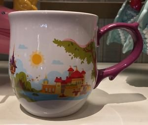 Disney Parks Happily Ever After Once Upon A Time Ceramic Mug Cup New
