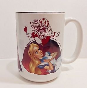 Disney WonderGround Gallery Exclusive by J. Scott Campbell Good Vs. Evil Mug New