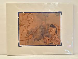 Disney Parks Exclusive Pinocchio 1940 Deluxe Print by Costa Alavezos New