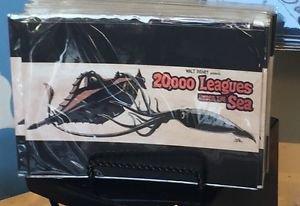 Disney WonderGround Gallery 20,00 Leagues Under The Sea Postcard by Brian Crosby