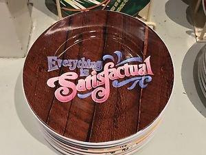 "Disney Parks Splash Mountain Everything is Satisfactual 7"" Ceramic Plate New"