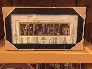 Disney Parks Magic Picture Rectangular Photo Frame New