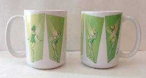 Disney WonderGround Tinker Bell Strike A Pixie Pose Ceramic Mug J Scott Campbell