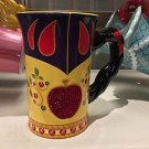 Disney Parks Princess Snow White Signature Dress Ceramic Mug Cup New