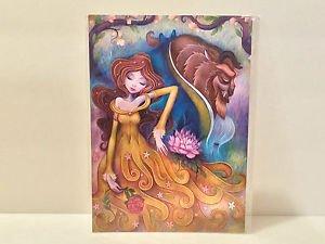 Disney WonderGround Gentle Companion Postcard Beauty & The Beast Jeremiah Ketner
