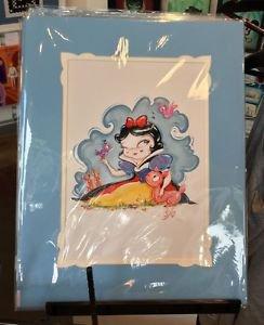 Disney WonderGround Gallery Princess Snow White Deluxe Print by Miss Mindy New