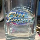 Six Flags Magic Mountain Full Throttle Coaster Clear Shot Glass New