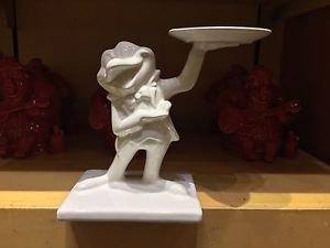 Disney Parks Mr Toad White Ceramic Figurine New