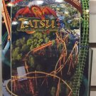 Six Flags Magic Mountain Tatsu Attraction Fly At The Speed Of Fear Postcard New