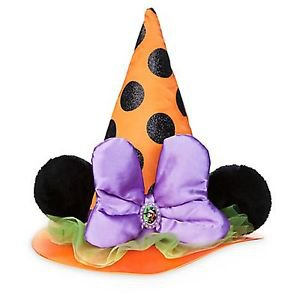 Disney Parks Minnie Mouse Witch Hat Halloween Time 2016 New