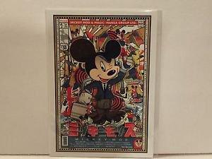 Disney WonderGround Mickey Mouse MOD Postcard by Sean D'Anconia NEW RARE HTF