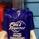Six Flags Magic Mountain Ceramic Shirt Style Shot Glass Full Throttle New
