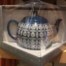 Disney Parks Iconic Mickey Mouse Ceramic Tea Pot New
