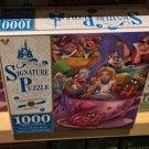 Disney Parks Alice in Wonderland Tea Cups Attraction 1000 Pieces Puzzle New