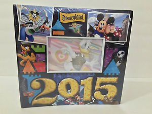 "Disneyland Resort 2015 Medium Photo Album Holds 200 4"" x 6"" Photos New Sealed"
