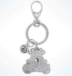 Disney Parks Disney Boutique Cinderella's Carriage Metal Keychain New