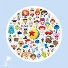 Disney WonderGround Gallery Pixar Characters Deluxe Print by Jerrod Maruyama