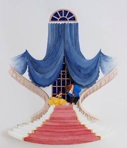 Disney WonderGround Gallery Beauty & The Beast Deluxe Print by Jackie Huang New