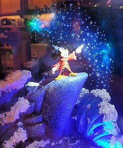 Disney Parks Sorcerer Mickey Mouse Fantasia Gallery of Light New in Box