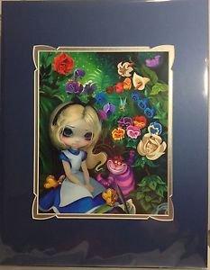 Disney WonderGround Alice in The Garden Deluxe Print by Jasmine Becket-Griffith
