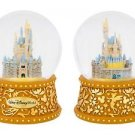 Disney Parks Walt Disney World Cinderella' Castle Musical Snow Globe New