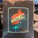 DISNEY PARKS DISNEY CALIFORNIA ADVENTURE RADIATOR SPRINGS COZY CONE MOTEL PRINT