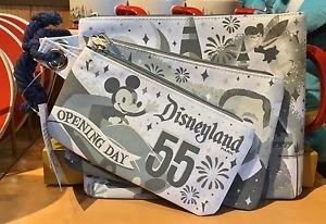 Disneyland 60th Diamond Celebration Opening Day 1955 Three Bag Set New