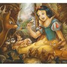 Disney Parks Snow White Forest Friends Deluxe Print by Darren Wilson New
