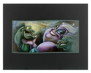 Disney Parks Ursula in What Lurks Below Deluxe Print by Darren Wilson New