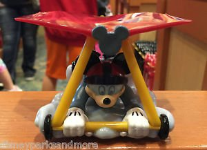 DISNEY PARKS DCA PULL BAKC TOY MICKEY MOUSE SOARING AROUND THE WORLD NEW