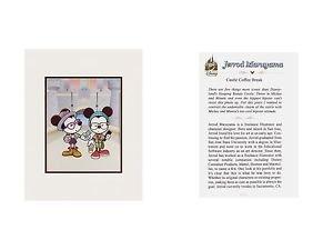 Disney WonderGround Gallery Castle Coffee Break Deluxe Print Jerrod Maruyama New