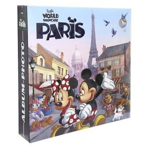 WALT DISNEY WORLD EPCOT MICKEY AND FRIENDS PARIS PHOTO ALBUM NEW AND SEALED