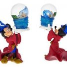 DISNEY PARKS WALT DISNEY WORLD SORCERER MICKEY RESIN SNOW GLOBE NEW