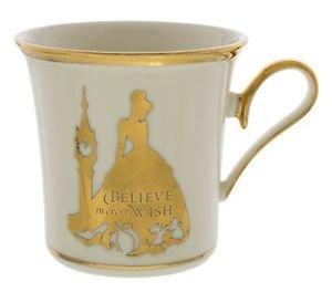 Disney Parks Cinderella Believe in Every Wish Porcelain Mug Lenox New with Box