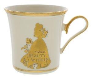 Disney Parks Princess Belle Find True Beauty Within Porcelain Mug Lenox New Box