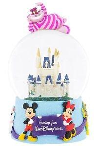 Disney Snow Globe Greetings From Walt Disney World Plays It's A Small World New
