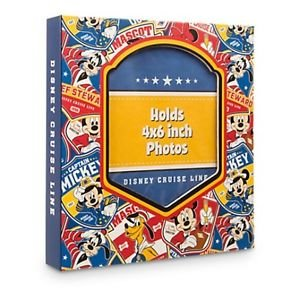 """Disney Cruise Line Front Insert Small Photo Album Holds 200 4""""x6"""" Pictures New"""