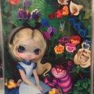 Disney WonderGround Alice in Garden Postcard by Jasmine Becket-Griffith New