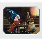 Disney Parks Sorcerer Mickey & Broom Deluxe Print by Brian Blackmore New