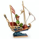 NEW Disney Traditions Jim Shore SHOWCASE Figurine Peter Pan's Flight ATTRACTION