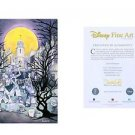 Walt Disney World Haunted Mansion Hitchhiking Ghost LE Giclee by St. Laurent New