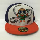 Tokidoki x Authentic New Era Fitted Hat Marvel's Doc Octopus Size 7 3/4- 61.5cm