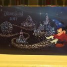 Disneyland Resort 2017 Lenticular Postcard Sorcerer Mickey Mouse Set of 4 New
